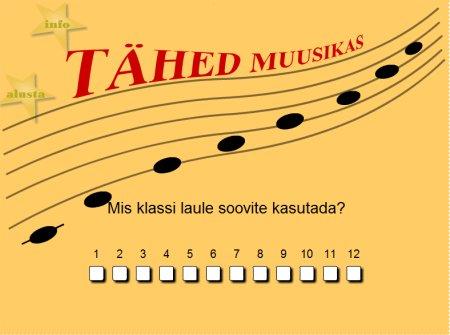 Tähed muusikas