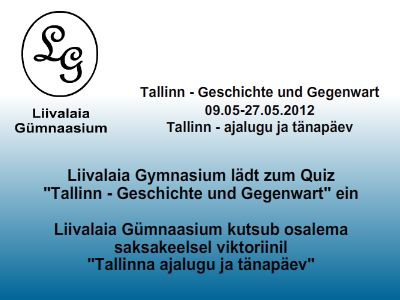 Tallinn - Geschichte und Gegenwart